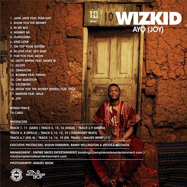 Wizkid Album