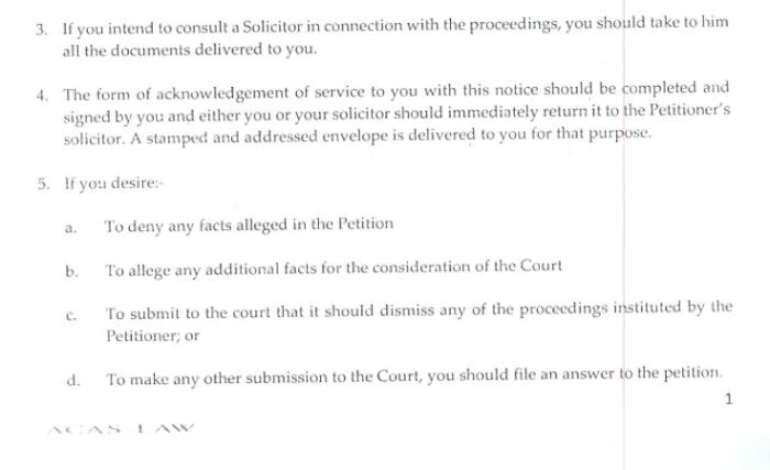 Toke Makinwa Divorce Papers 2