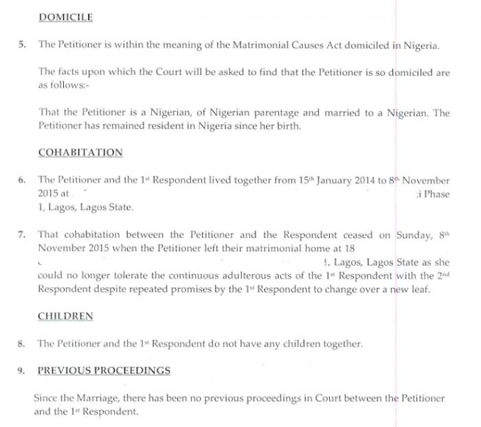 Toke Makinwa Divorce Papers 6