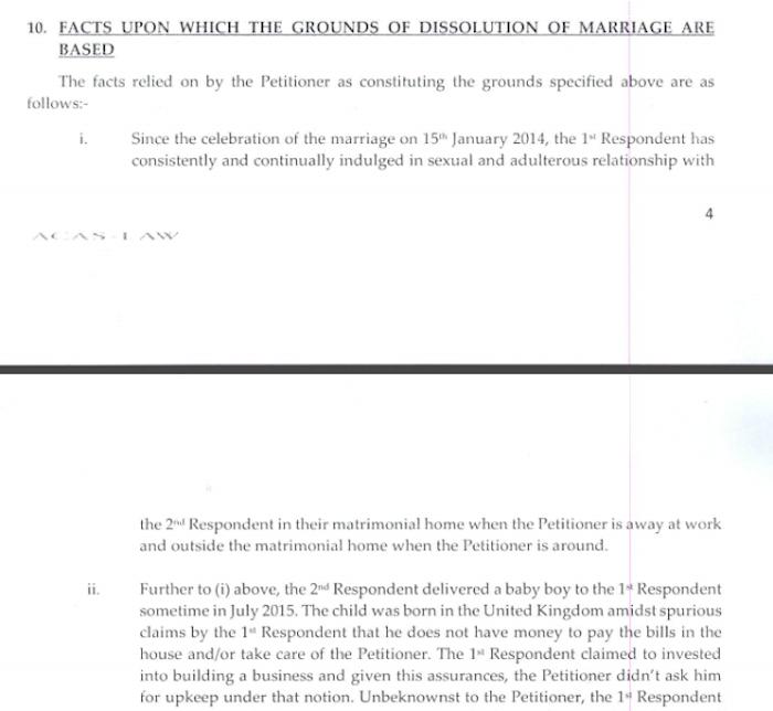 Toke Makinwa Divorce Papers 7