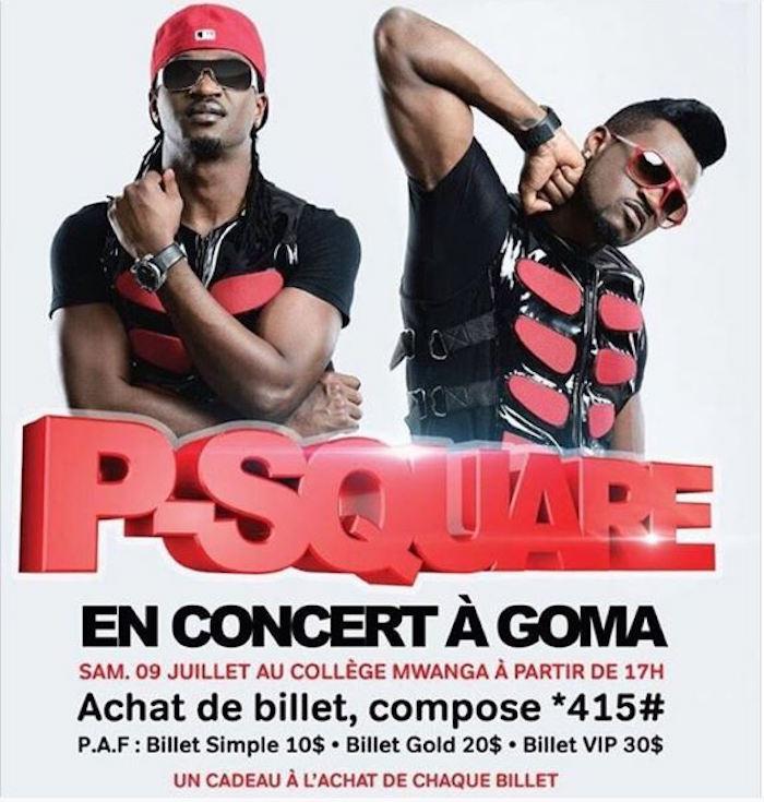 Psquare Congo Concert