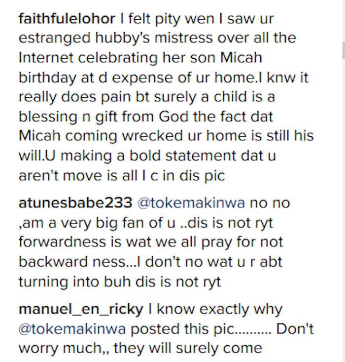 Toke Makinwa Criticisms 3