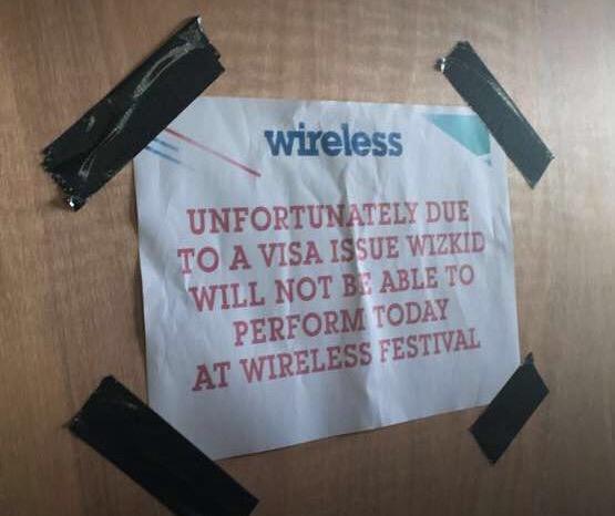 Wireless Visa Notice