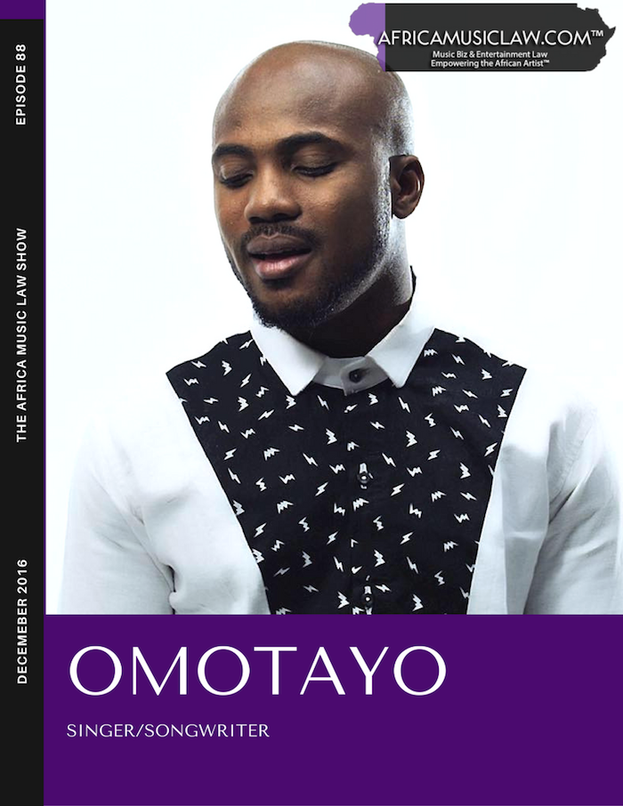 Omotayo - AML 088: (Exclusive Interview) Introducing Omotayo, R&B Singer & Songwriter
