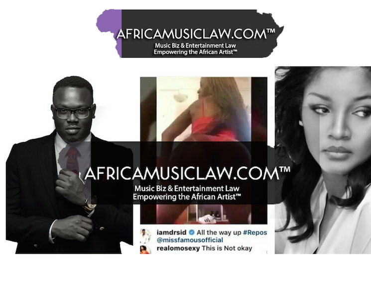 We Up Dr Sid - Celebrities Behaving Badly: Dr. Sid posts inappropriate fan video on his timeline, Nollywood Actress Omotola Jalade-Ekeinde calls him out
