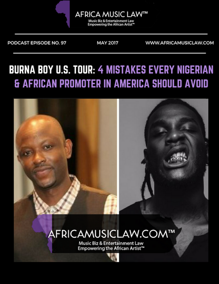 """4 Mistakes Every Nigeria and African Promoter in America Should Avoid - Burna Boy U.S. Lawsuit: Vibesland Entertainment shoots itself in the foot with release of Azubuike """"leaked"""" tape"""