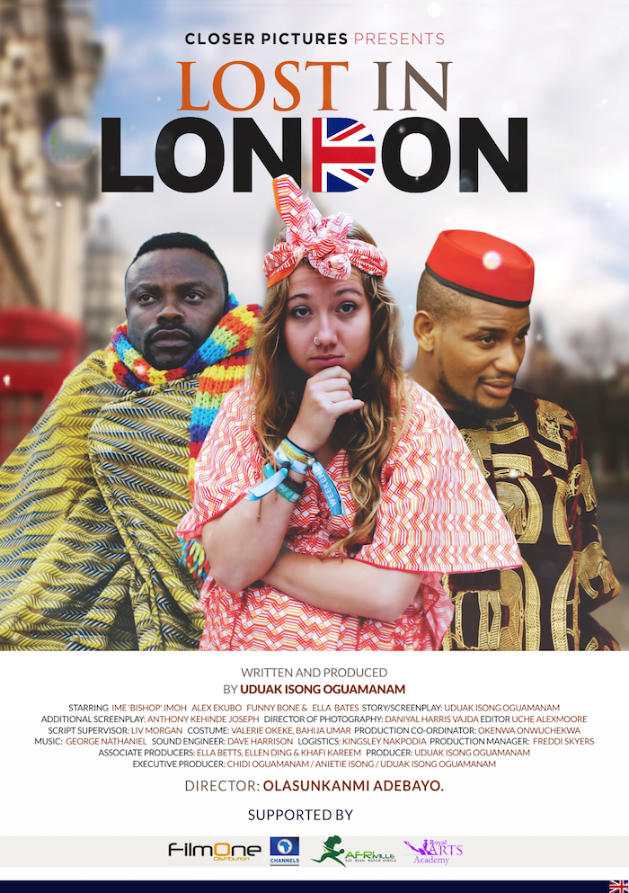 LOST IN LONDON FLYER - Nollywood: Uduak Isong's 'Lost in London' heads to cinemas in June!
