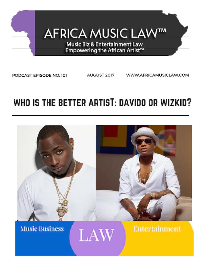 Davido v WizKid Who is the better artist - AML 101: Who is the Better Artist: Davido or Wizkid? (Podcast)