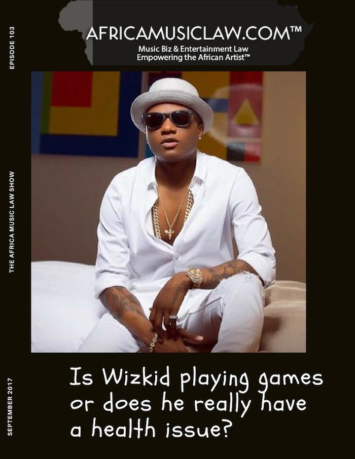Does Wizkid have a health issue - AML 103: Is Wizkid Playing Games or Does he Really have a Health Issue?