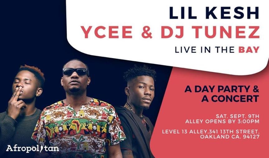 Ycee Lil Kesh 864x510 - Ycee and Lil Kesh replace Wizkid as Headliners for Bay Area Event this Weekend