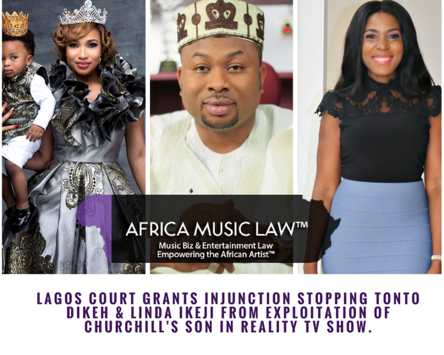 Court Injunction Linda Ikeji Tonto Dikeh 864x691 - Lagos Court Grants Injunction Stopping Linda Ikeji & Tonto Dikeh from Exploiting Churchill's Son in Reality TV Show