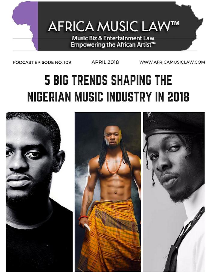 AML109TrendsinNigeriaMusicIndustry - AML 109: 5 Big Trends Shaping the Nigerian Music Industry in 2018