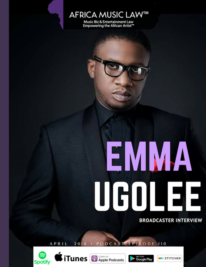 Emma Ugolee Africa Music Law - AML 110: (Exclusive) Emma Ugolee on Payola in the Nigerian Music Industry