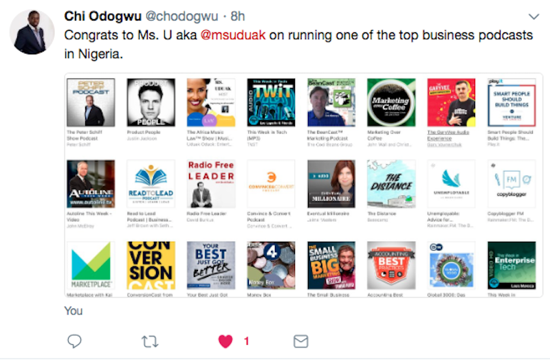AML Top Business Podcast in Nigeria - The Africa Music Law Show Makes iTunes Top Business Podcasts in Nigeria Alongside Peter Schiff & Gary Vaynerchuk