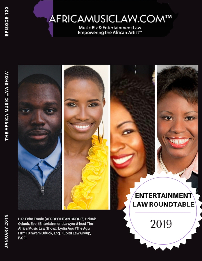 AML120EntertainmentLawRoundtable - AML120: Entertainment Law Roundtable 2019 - Tekno, Jeff Bezos, XXXTentacion & More!