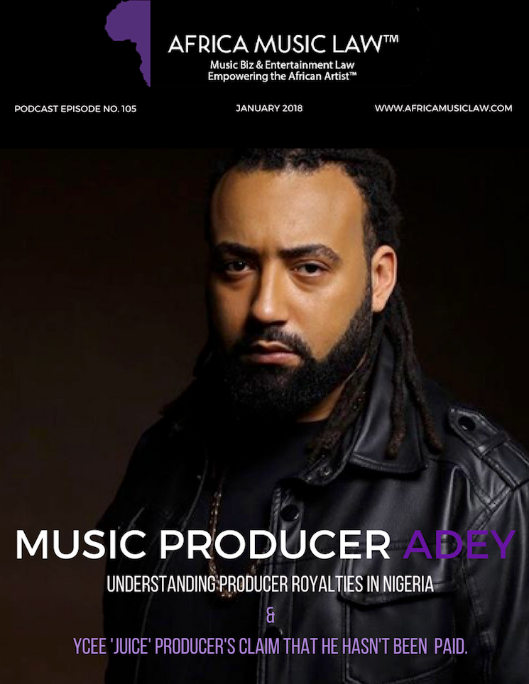 Adey Producer Royalties - AML Top 10 Podcasts of 2018