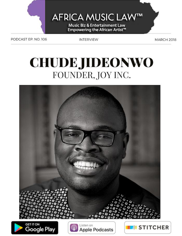 Chude Jideonwo - AML Top 10 Podcasts of 2018