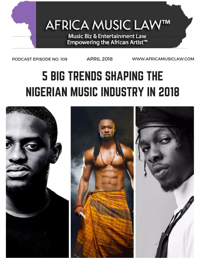 Nigerian Music Industry - AML Top 10 Podcasts of 2018
