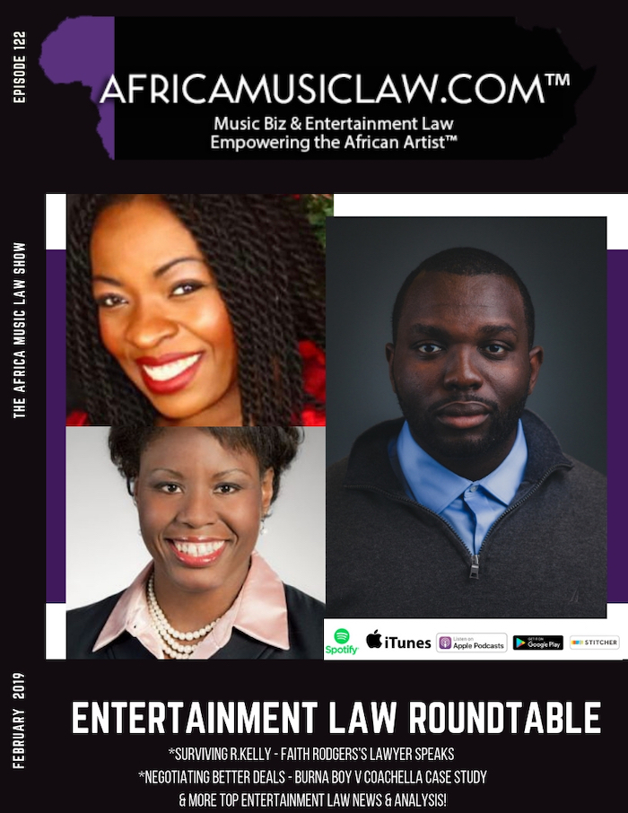 AML122RKellySexScandal - AML 122: Lawyer for One of R. Kelly's Alleged Victims Speaks + Redesigning an Entertainment Industry that Protects Women | Entertainment Law Roundtable