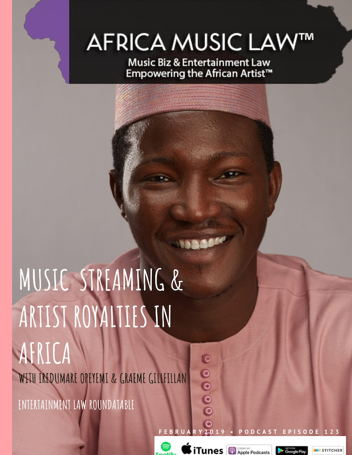 AML123MusicStreaming - AML 123: Music Streaming & Artist Royalties in Africa | Entertainment Law Roundtable
